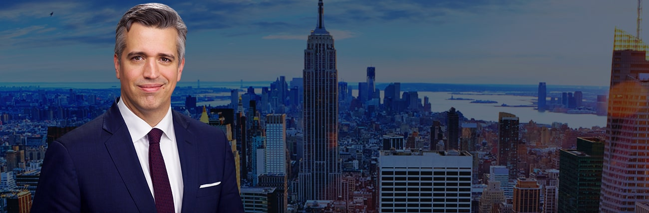 New York skyline and picture of Attorneys